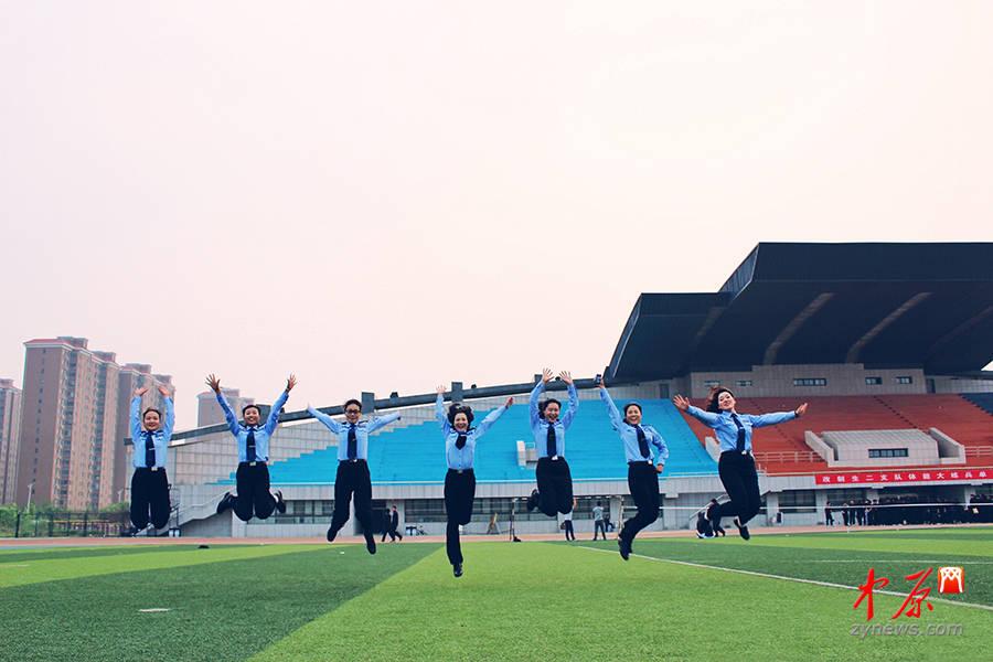 河南警察学院:飞舞吧,青春!(图:婴儿肥是wo)