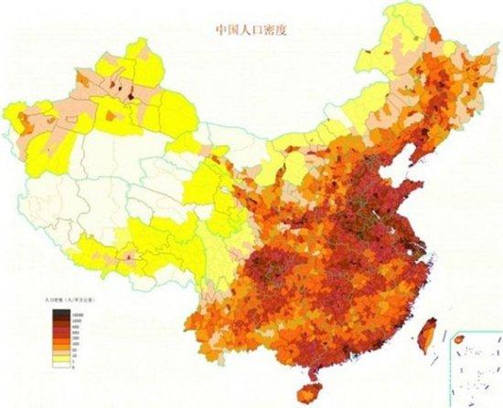 中国人口排第几_中国人口分布图 中国人口收入分布图