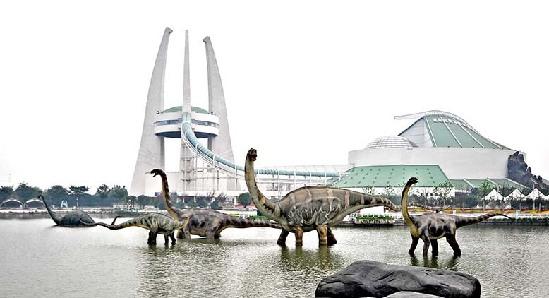 郑州中华恐龙园2019年迎客 天伦集团与常州恐龙园签约投资15亿元打造