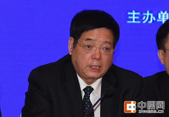 黄帝故里拜祖大典组委会常务副主任、郑州市政协主席王璋