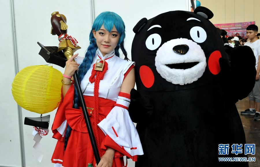 高清:2017郑州市青少年动漫游戏文化节