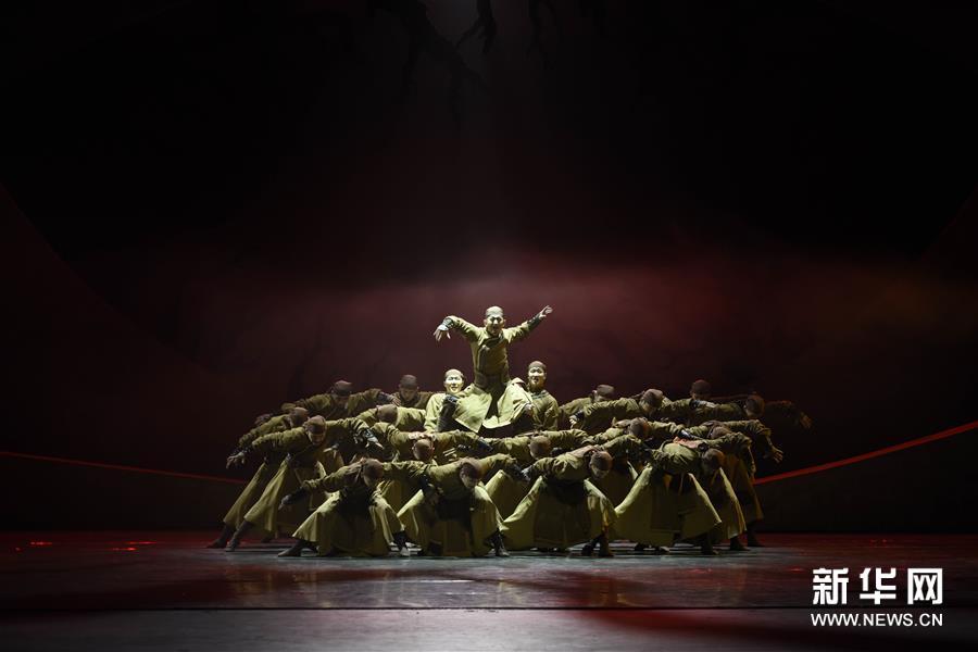 #(文化)(1)民族舞剧《驼道》在国内首演