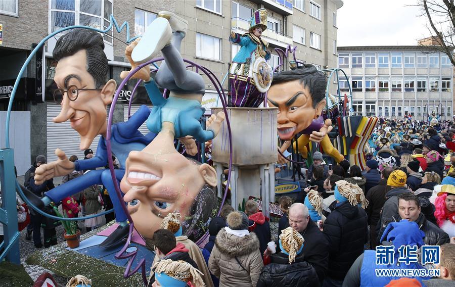 (国际)(2)阿尔斯特狂欢节盛大游行