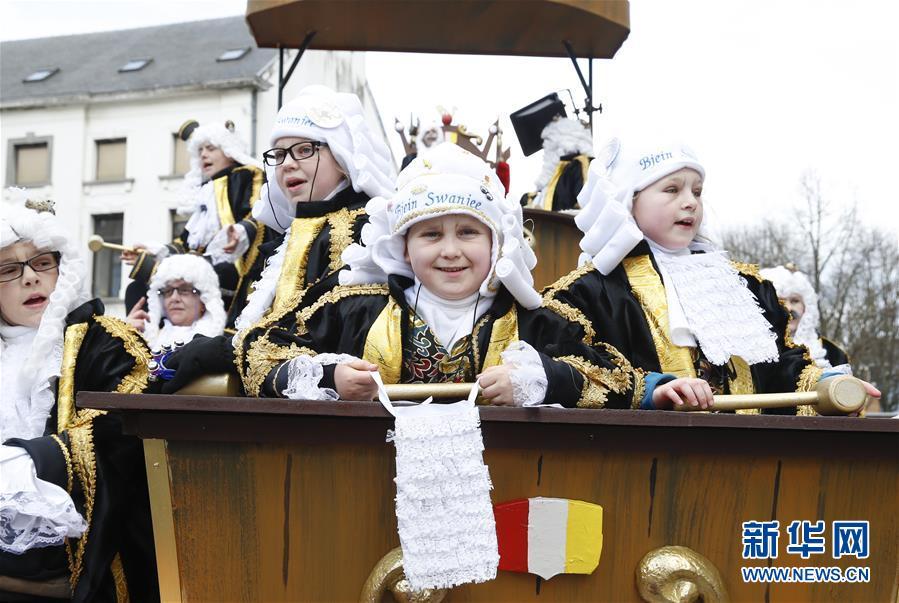 (国际)(5)阿尔斯特狂欢节盛大游行