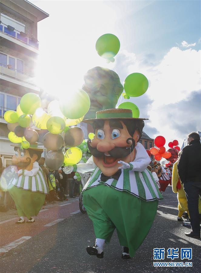 (国际)(8)阿尔斯特狂欢节盛大游行