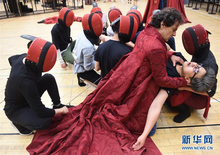 (文化)(3)国家大剧院推出《罗密欧与朱丽叶》纪念作曲家古诺诞辰200周年