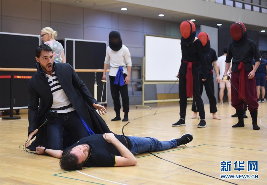 (文化)(4)国家大剧院推出《罗密欧与朱丽叶》纪念作曲家古诺诞辰200周年