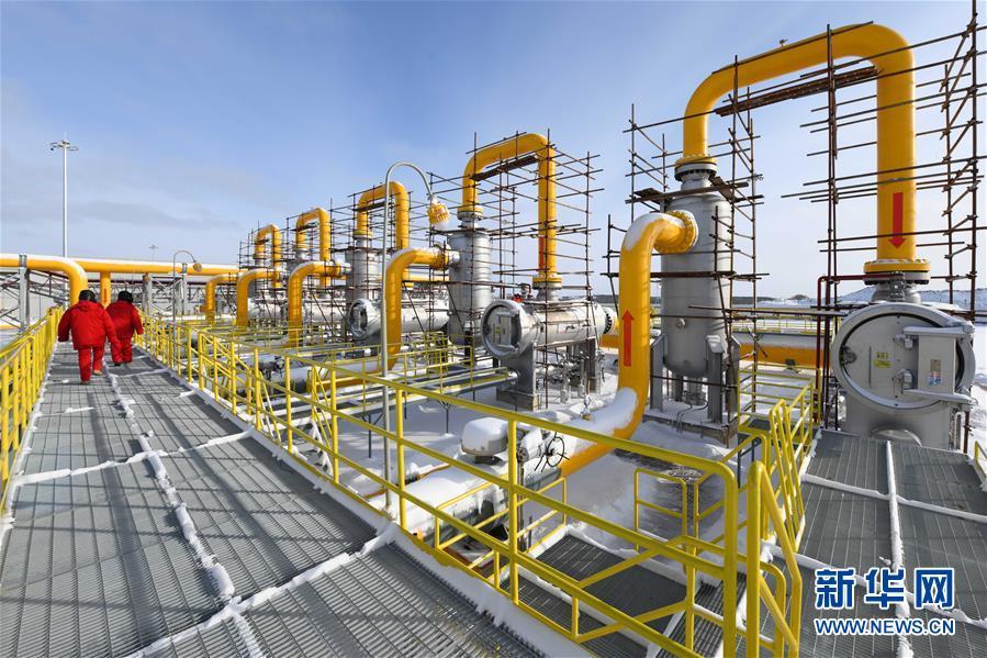 (图文互动)(4)俄罗斯天然气通过中俄东线天然气管道正式进入中国