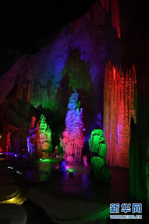 (美丽中国)(4)千姿百态的天津蓟州溶洞
