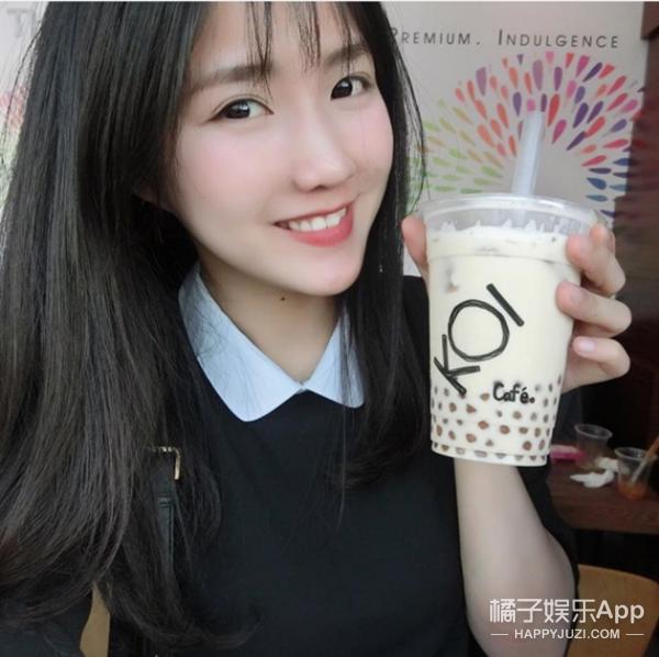 越南也出了个奶茶妹妹 颜值一点都不差
